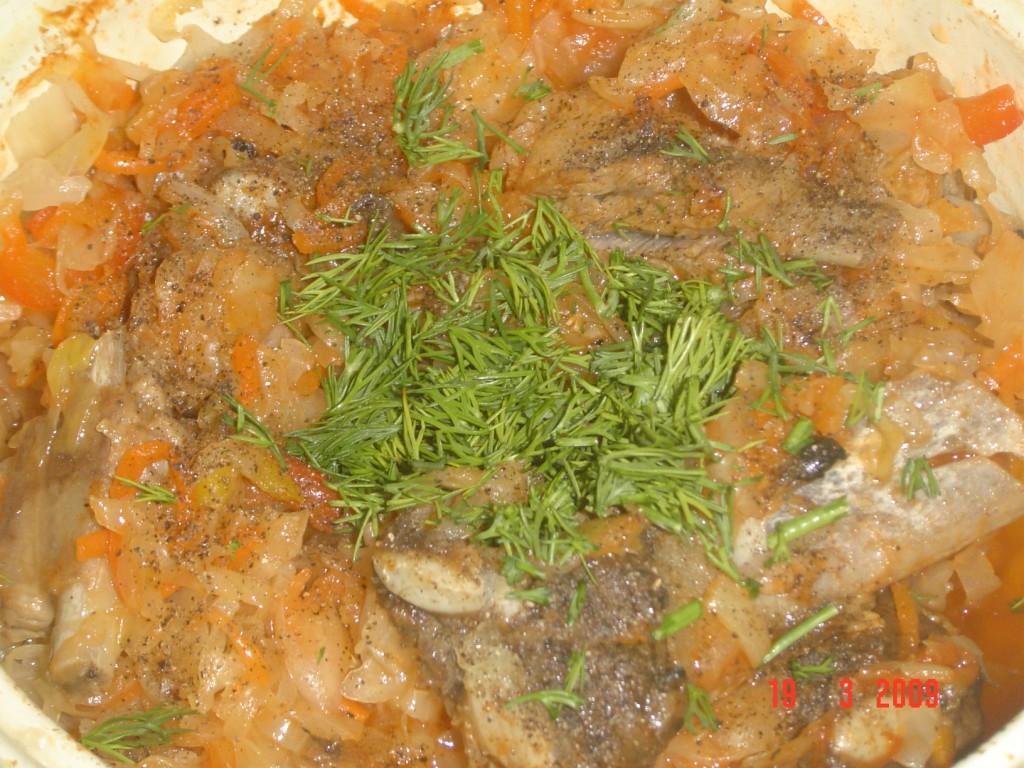 капуста тушеная в духовке рецепт пошаговый