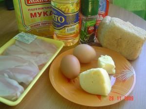 куриные рулетики с сухарями.ингредиенты