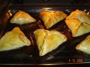 треугольнички с мясом.шаг 9