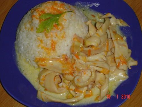 Кальмары тушеные рецепт фото пошагово