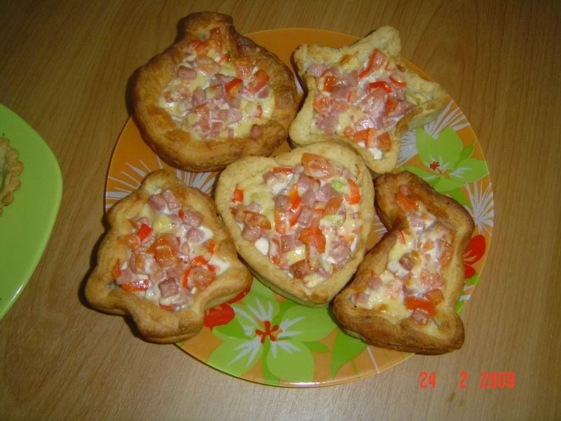 Тарталетки с начинкой запеченные в духовке рецепт пошагово